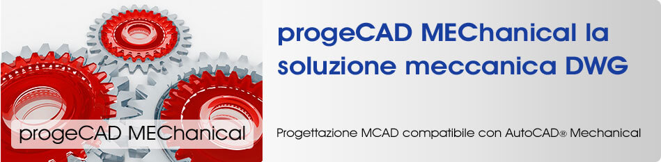 progeCAD MEChanical AutoCAD Mechanical MCAD DWG