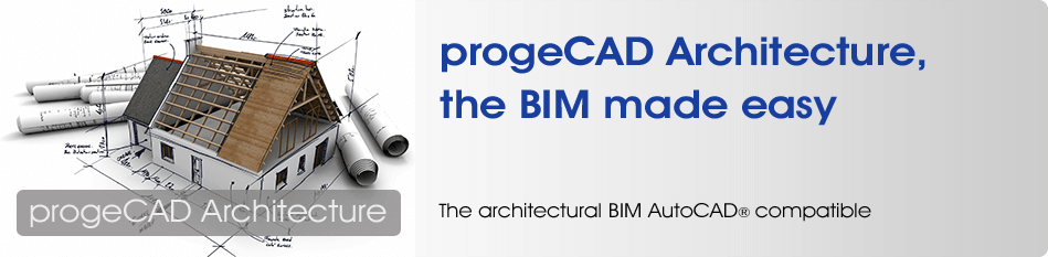 progeCAD Architecture BIM Revit alternative