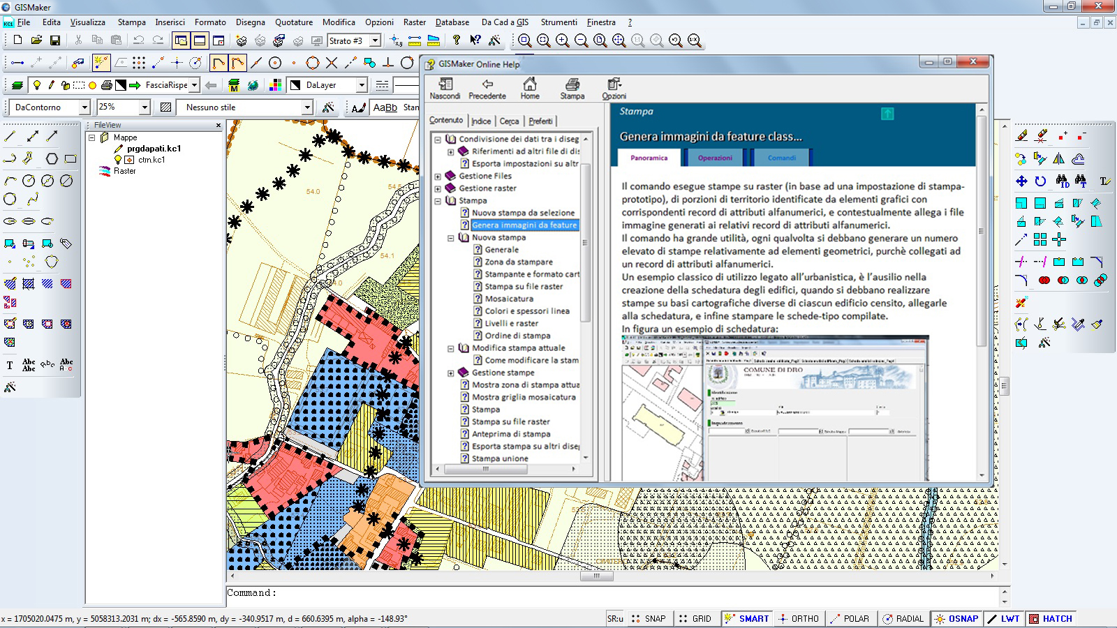 Cartina Italia Dwg.Cad Gis Il Software Gis Con Un Cad Nativo Integrato