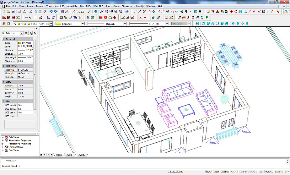 Progecad architecture progesoft 3d drawing website