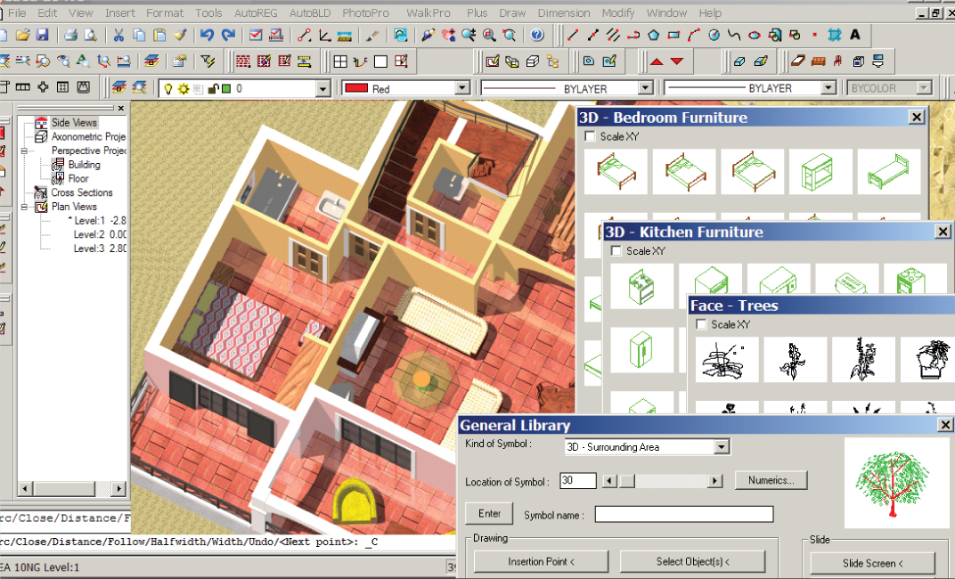 Progecad architecture progesoft for 2d architectural drawing software free