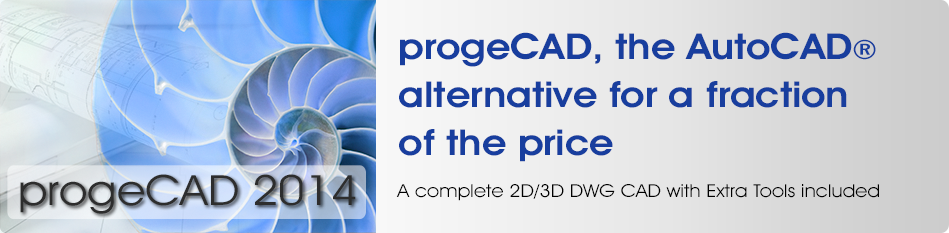 progeCAD autocad alternative