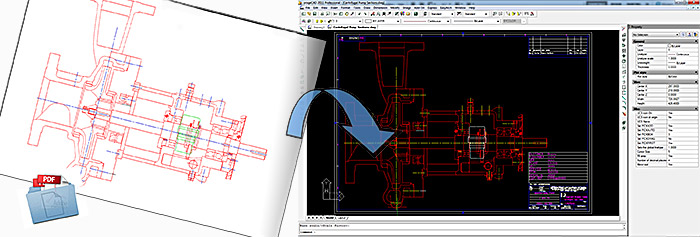 Pdf2dwg convert pdf to dwg pdf to autocad for Pdf a cad