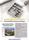 progeCAD Architecture - English brochure