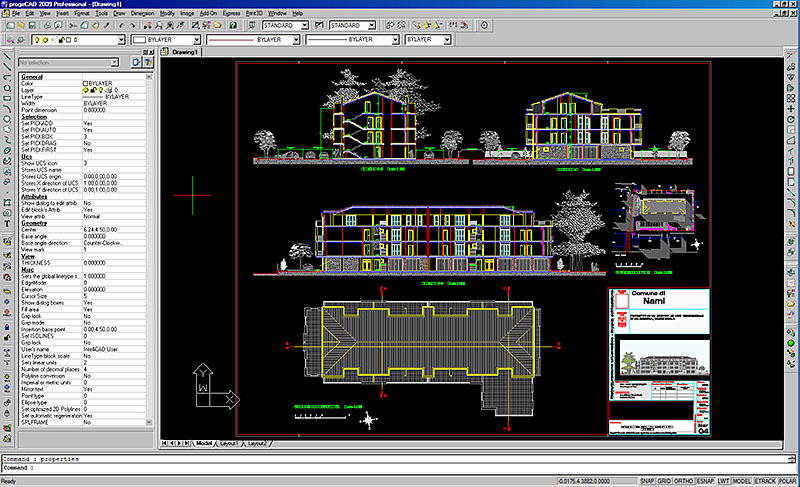 Click to view progeCAD 2014 Professional screenshots