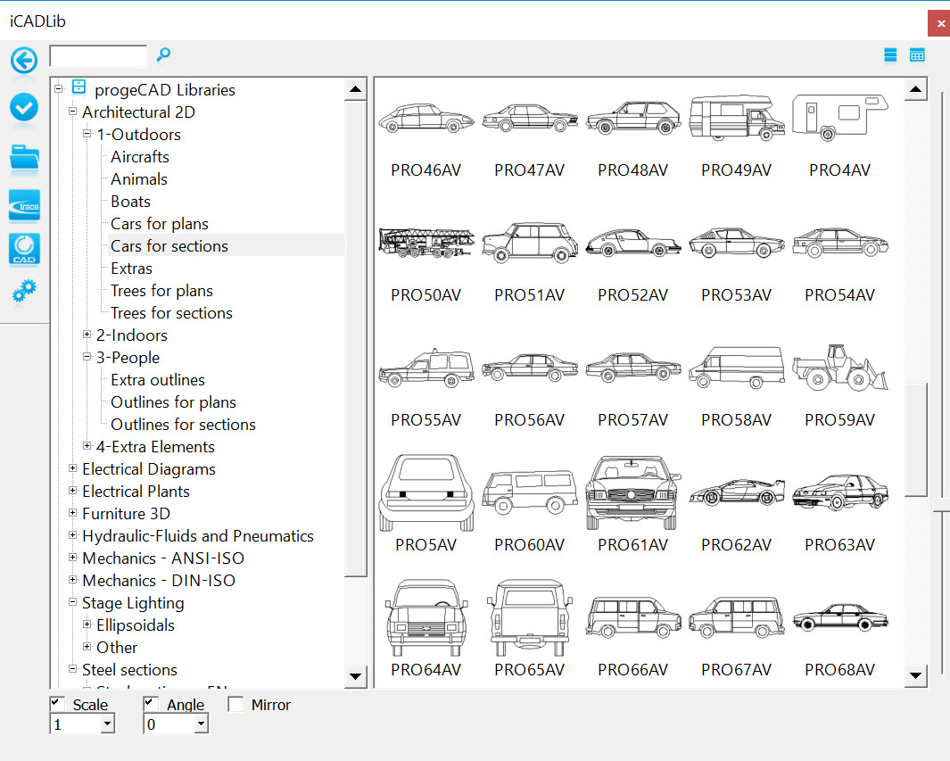 Products - ProgeCAD Professional - Advanced Features