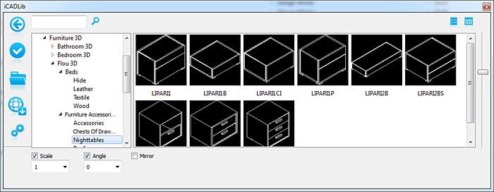 Icadlib blocchi cad 2d 3d gratuiti blocchi for Cucine 3d dwg