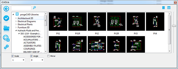 iCADLib, 22 000 CAD blocks ready to use with CAD  Free AutoCAD