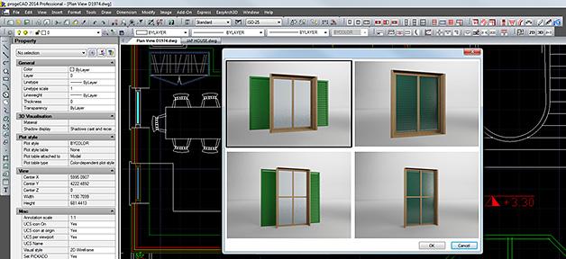 Easyarch architectural plugin - Blocchi autocad finestre ...